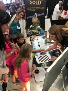 Building GOLD spectrographs at STEAM 2018