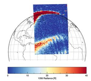 The Equatorial Ionospheric Anomaly (EIA) is a ridge of plasma near the geomagnetic equator.
